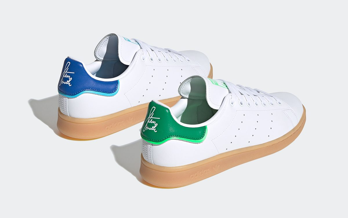 stan smith with signature