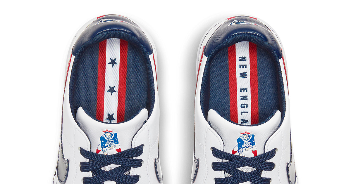 The New England Patriots Air Force 1