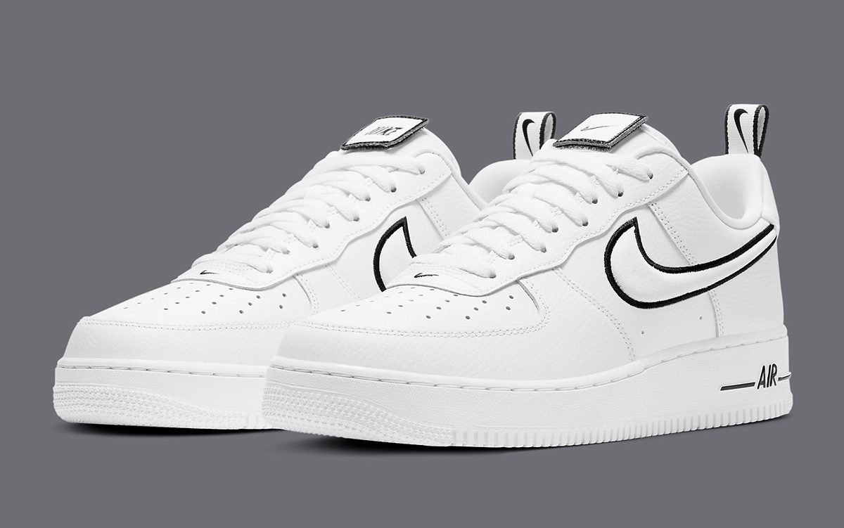 The Air Force 1 Adds Raised Checks