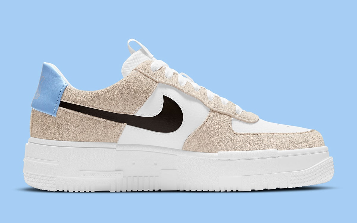 Available Now // Nike Air Force 1 Pixel