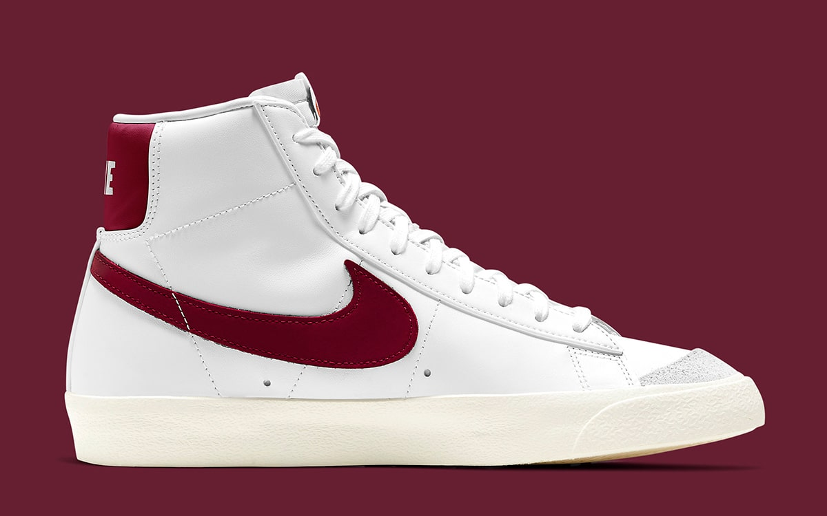 The Next Nike Blazer Mid is Made with Maroon Inclusions | HOUSE OF ...