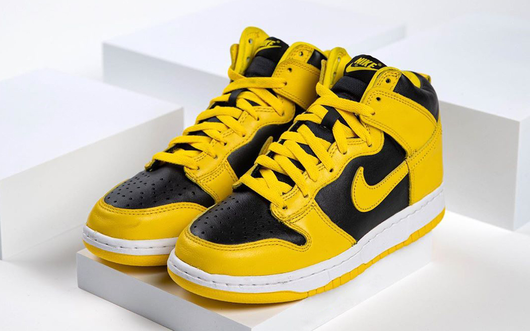"""Nike Dunk High """"Varsity Maize"""" Earmarked for December 3rd Drop"""