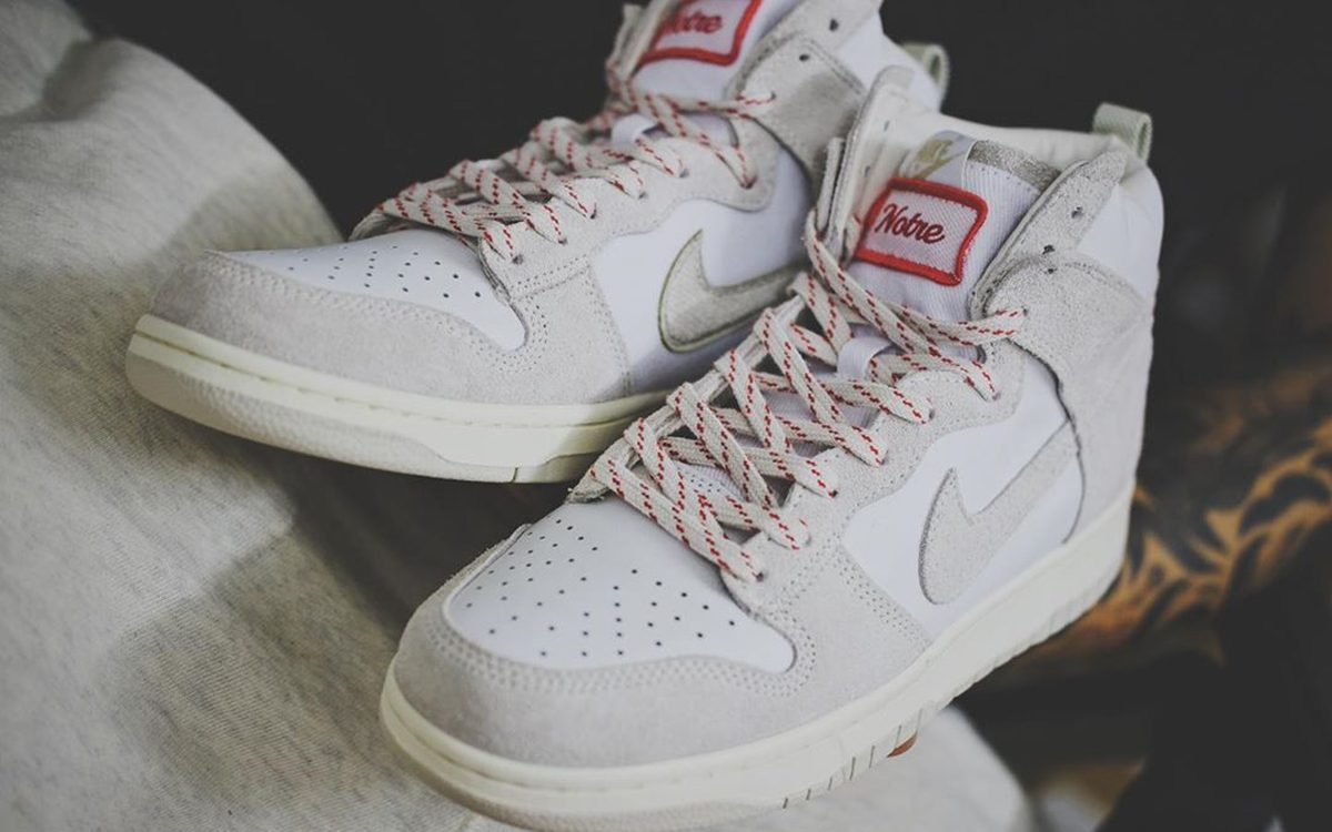 Fresh Looks at the Notre Nike Dunk High for Holiday 2020