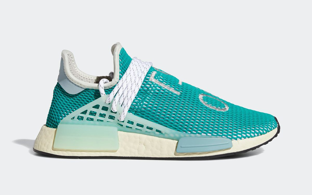 """Pharrell x adidas NMD Hu """"Dash Green"""" Expecting October 25th Release"""