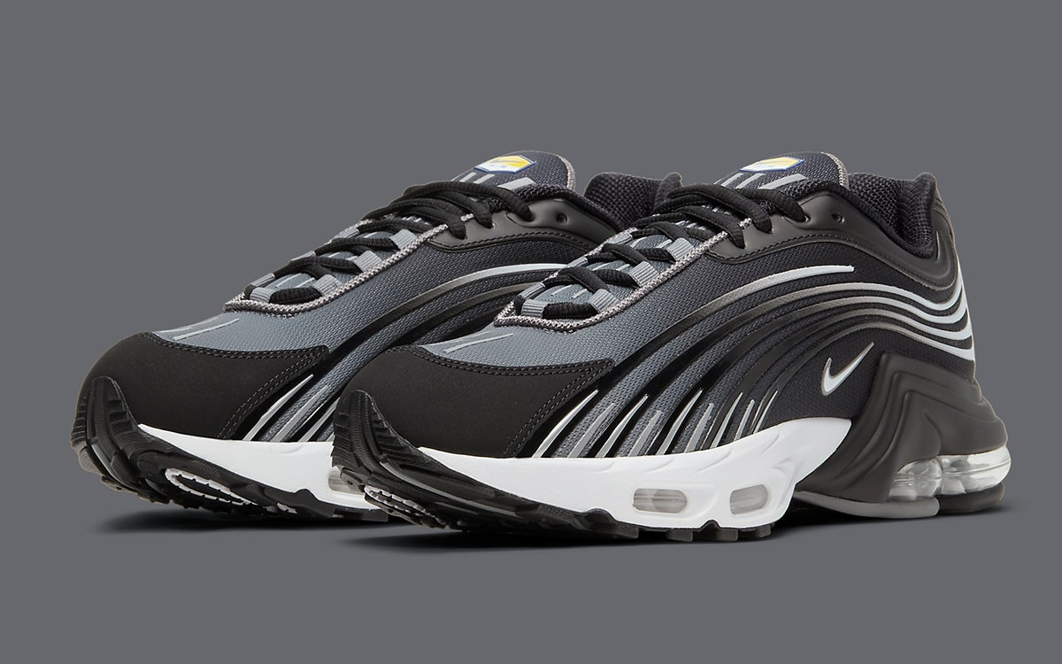 Available Now // Nike Air Max Plus 2 in Black/White | HOUSE OF HEAT