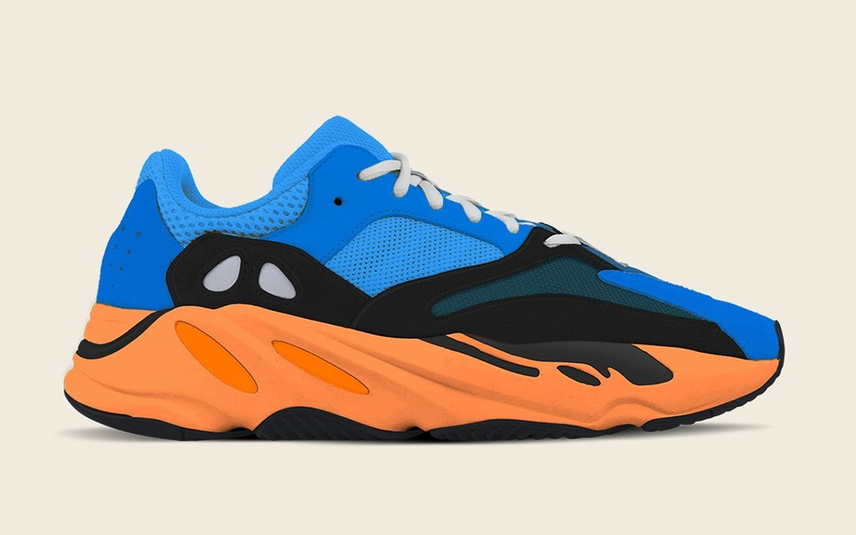 """YEEZY 700 v1 """"Bright Blue"""" Eyes Early 2021 Release"""