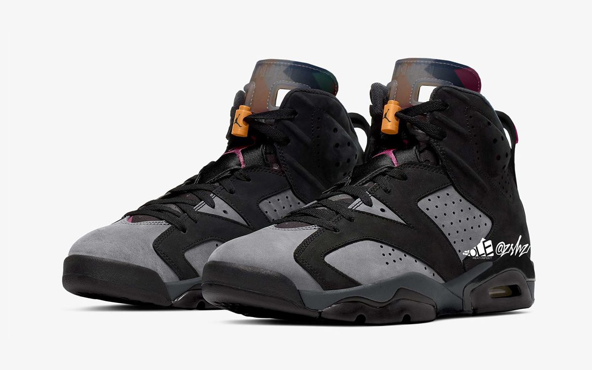 "Air Jordan 6 ""Bordeaux"" Set for September 2021 Release"