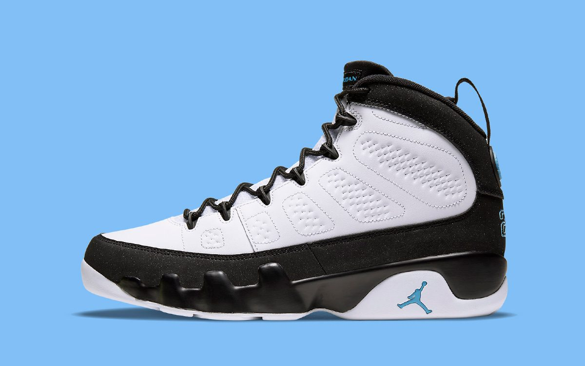 "Official Images // Air Jordan 9 ""University Blue"""
