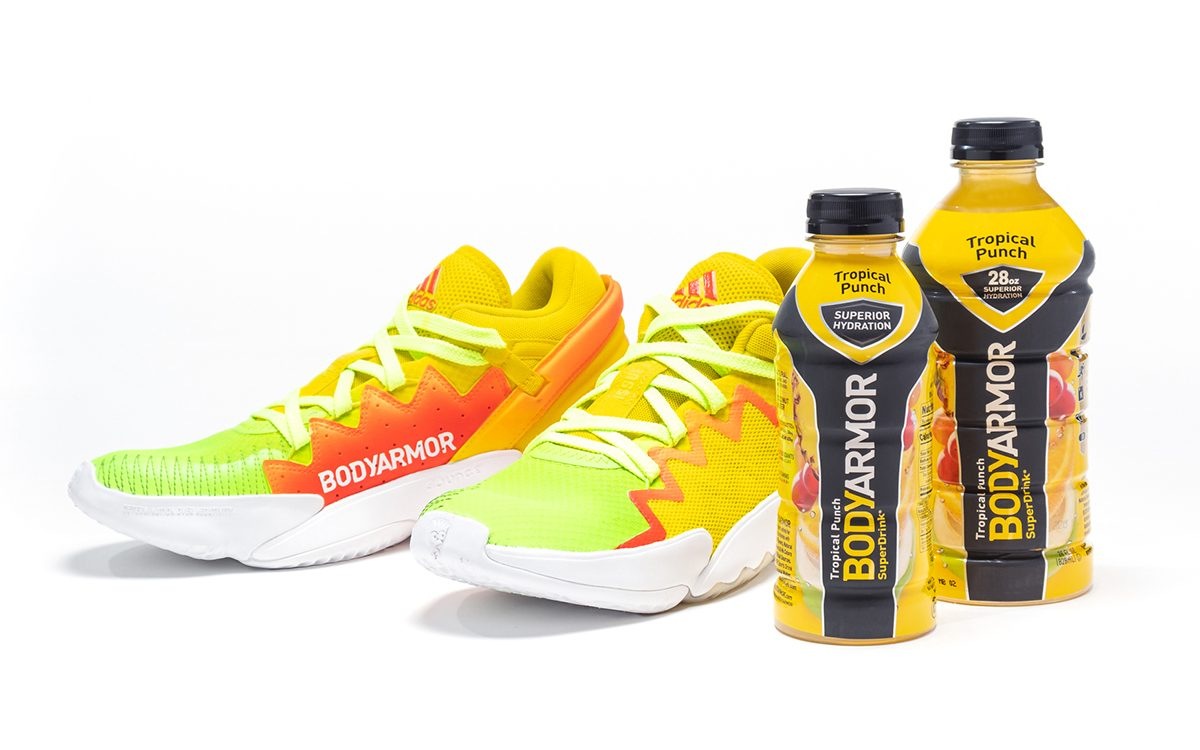 Donovan Mitchell is Giving Away 100 Pairs of Exclusive BODYARMOR x adidas DON Issue #2 Sneakers