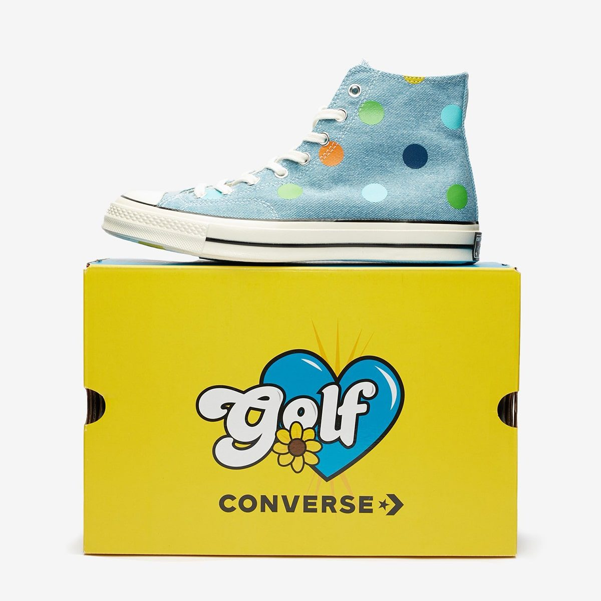 Golf Wang Deliver a Polka-Dotted Denim Chuck 70 for Fall