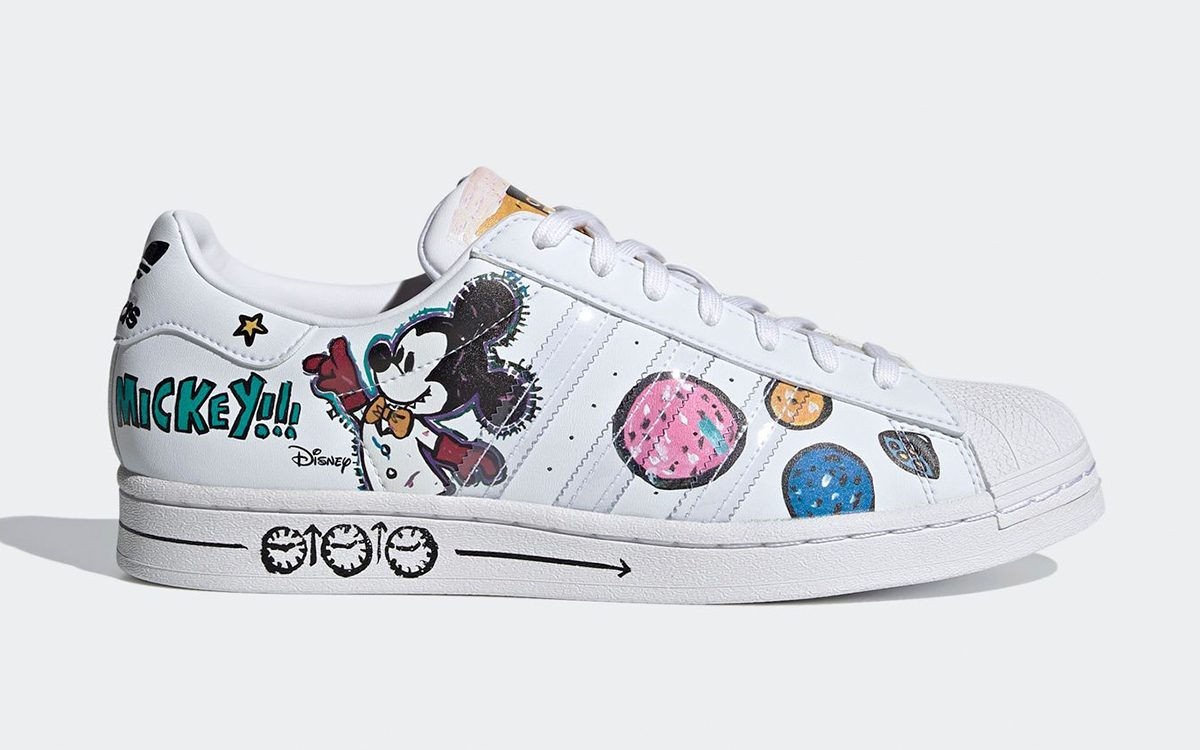 Kasing Lung x Mickey Mouse x adidas Collection Drops Dec. 12