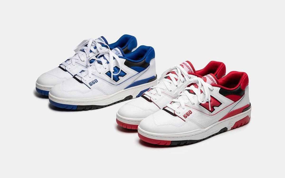 New Balance 550 to Release in Two OG Options in December