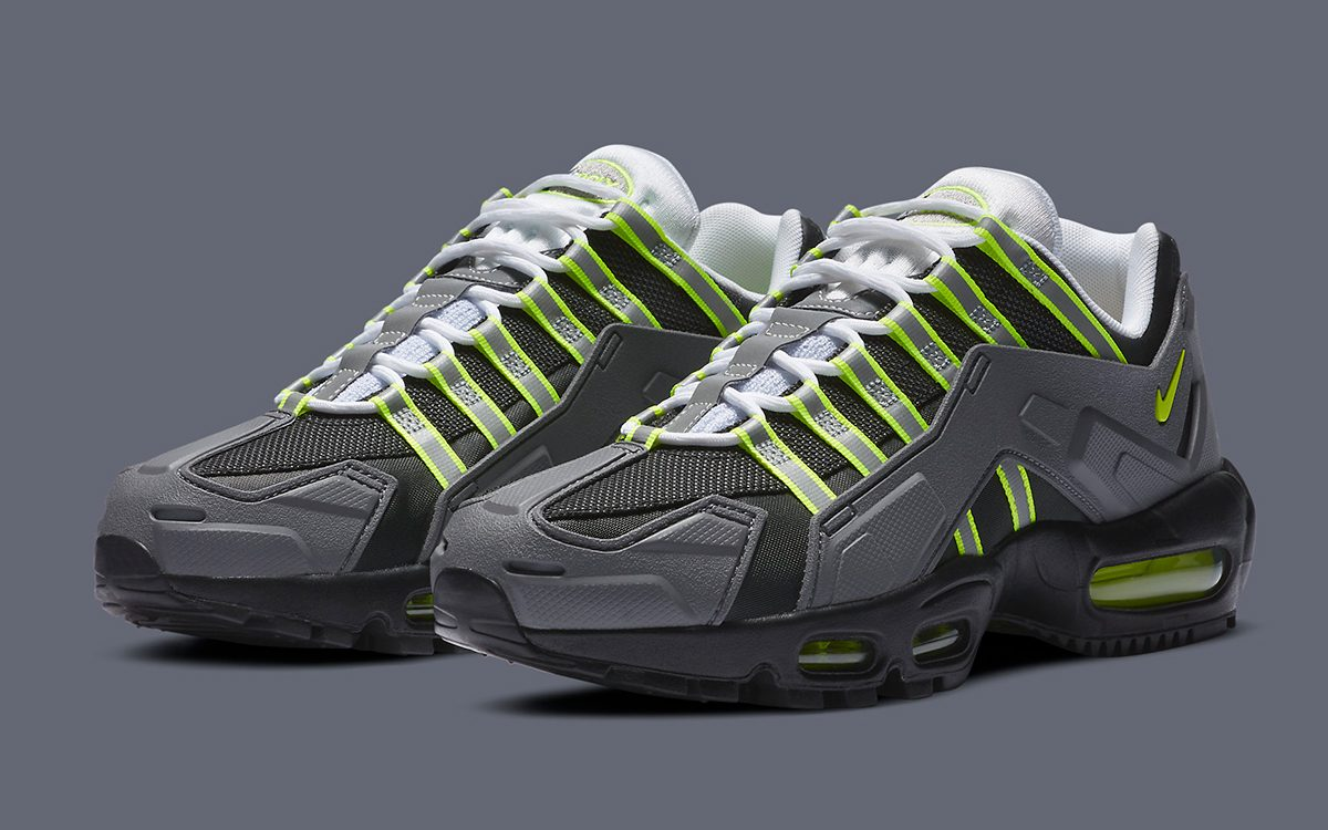 """The Nike NDSTRKT AM95 """"Neon"""" Releases Stateside Next Month"""