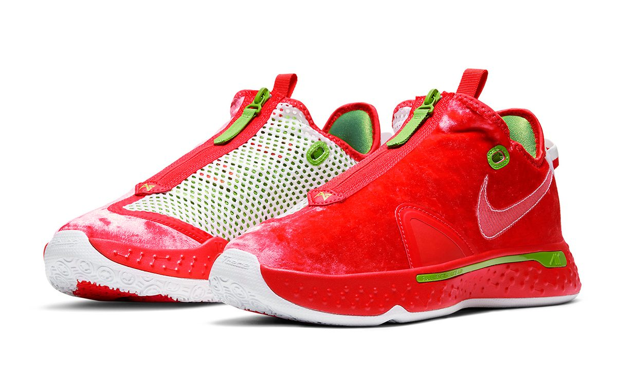 """Official Looks at the Nike PG 4 """"Christmas"""""""