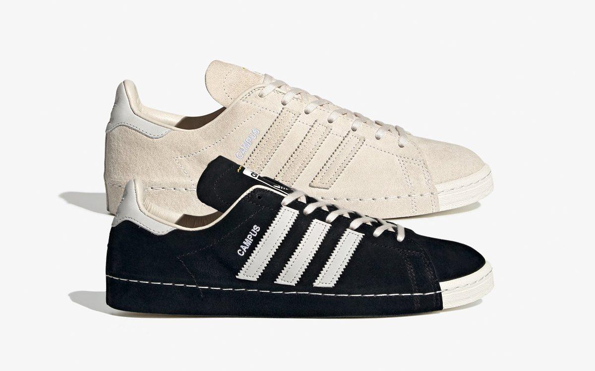 RECOUTURE Return with Two More adidas Campus 80s