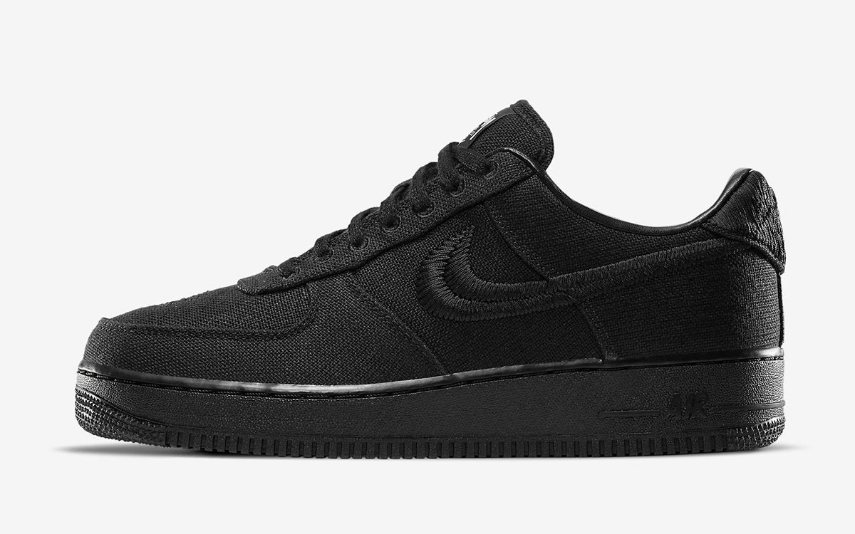 Official Looks // Stussy x Nike Air Force 1 Low