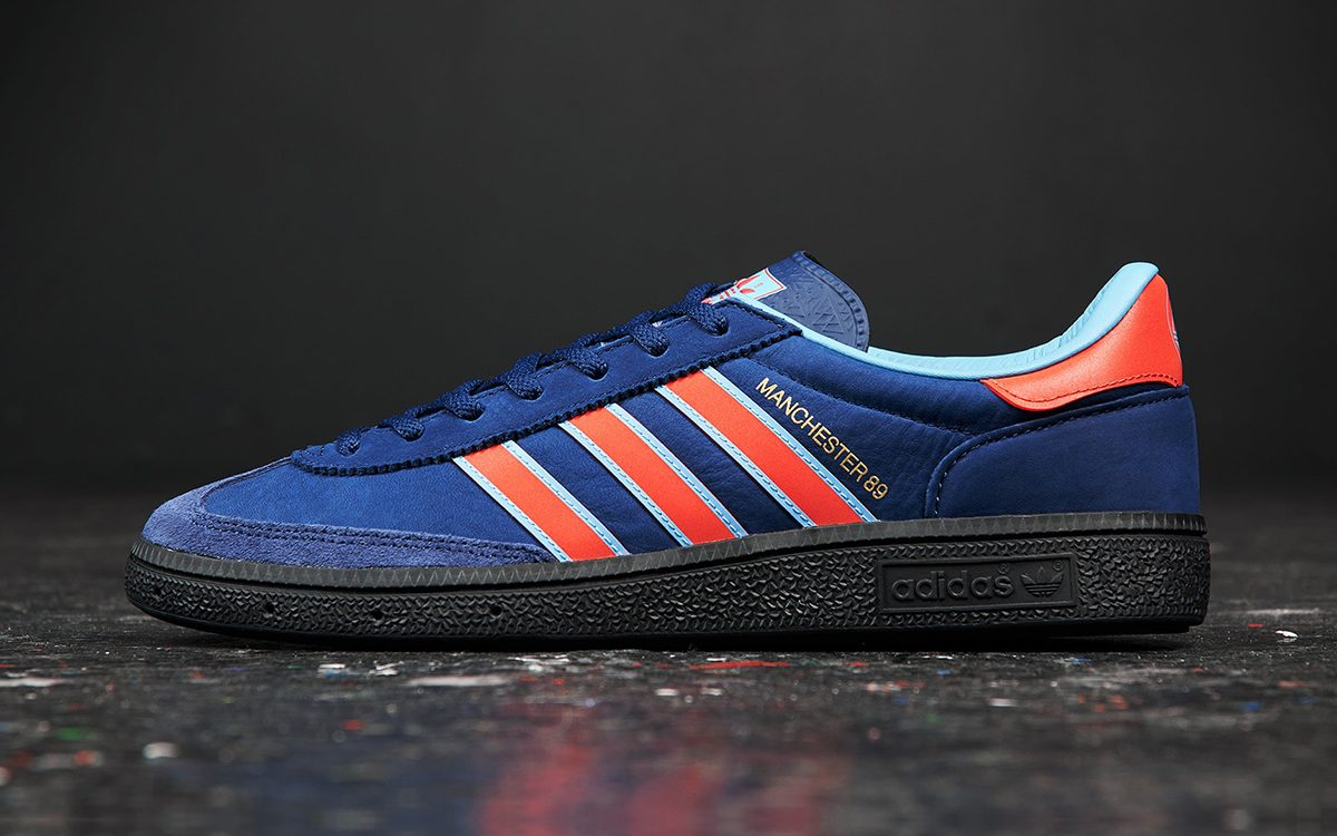 adidas Manchester 89 SPZL Honors the City's Famous Football Clubs