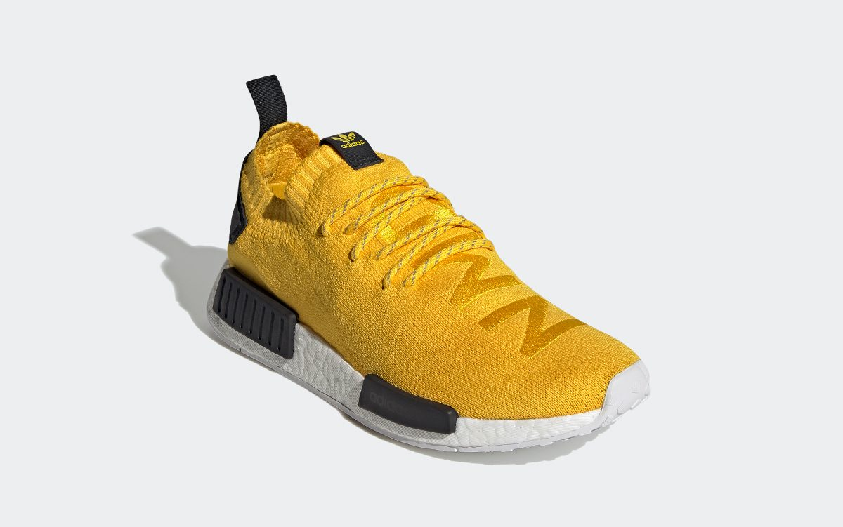 Fifth Anniversary NMD R1 Channels Pharrell's First NMD Hu