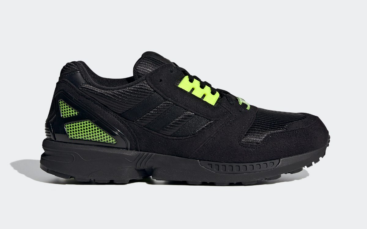 The adidas ZX 8000 is Coming Soon in Core Black and Solar Yellow