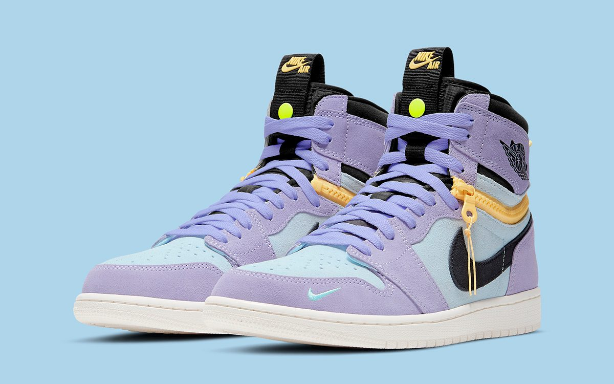 "Official Images // Air Jordan 1 High Switch ""Purple Pulse"""