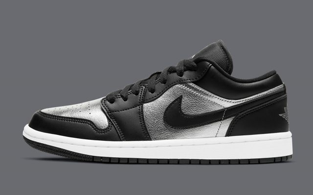 "Air Jordan 1 Low ""Silver Toe"" Arrives March 8th"