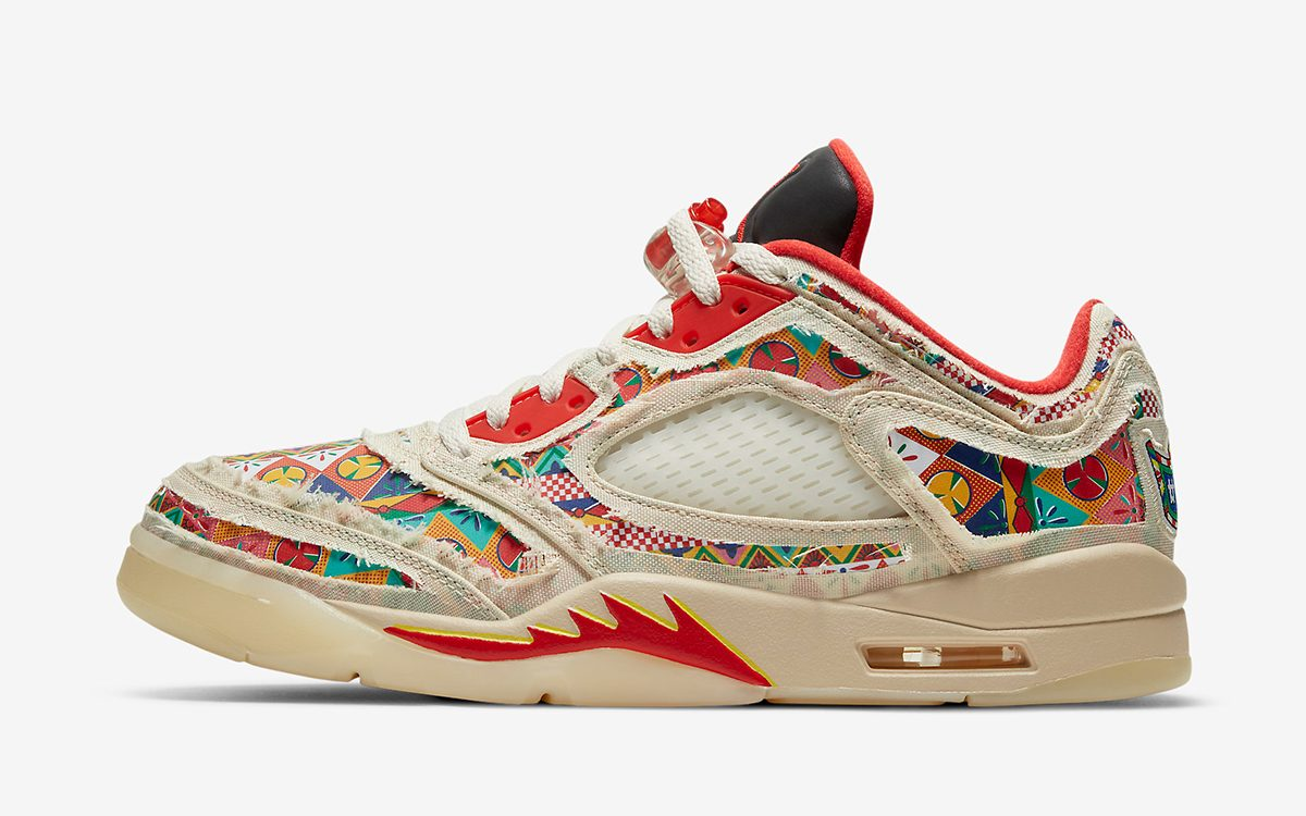 """Where to Buy the Tear-Away Air Jordan 5 CNY """"Chinese New Year"""""""