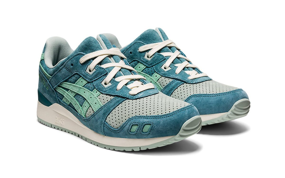 """Available Now // ASICS GEL-Lyte III """"Misty Pine"""""""