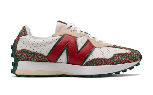 Casablanca Adds its Elegant Monogramme Pattern to the New Balance 327