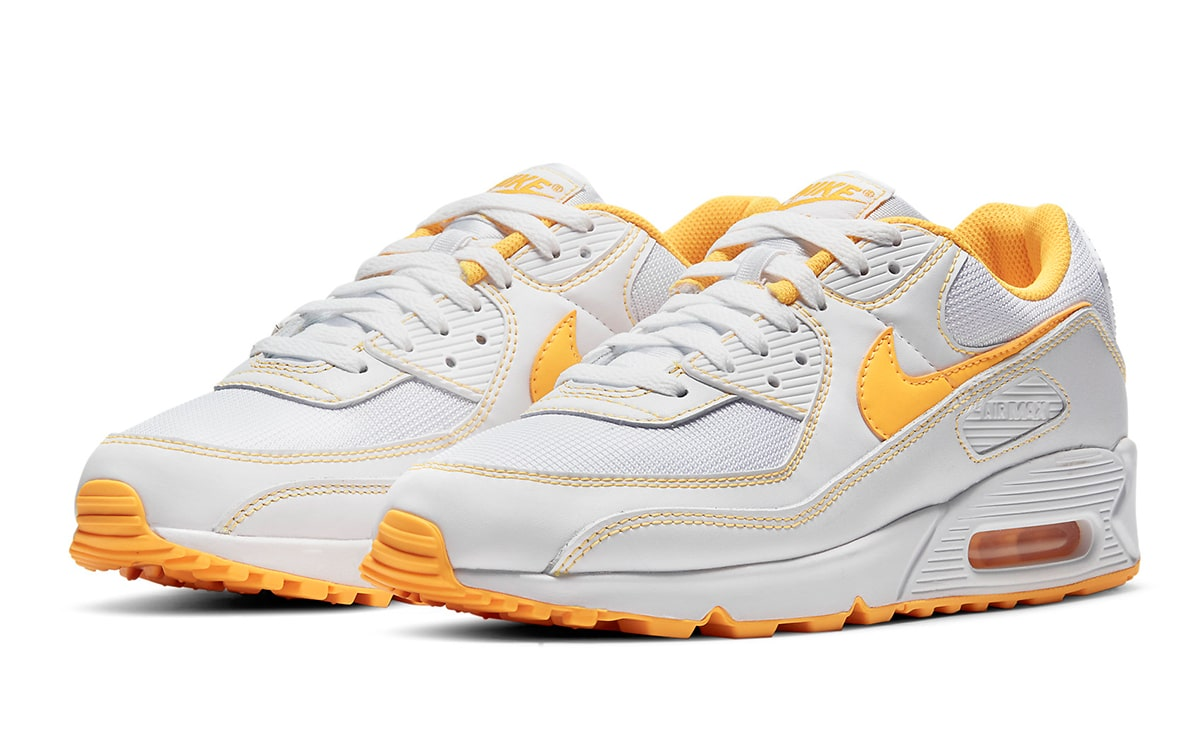 Available Now // Contrast-Stitch Nike Air Max 90