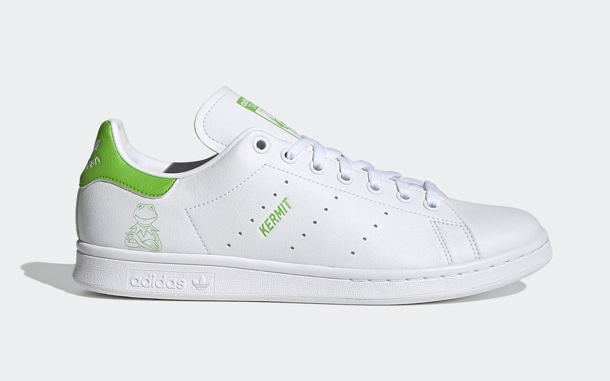 It's Easy to be Green with the Kermit the Frog x adidas Stan Smith