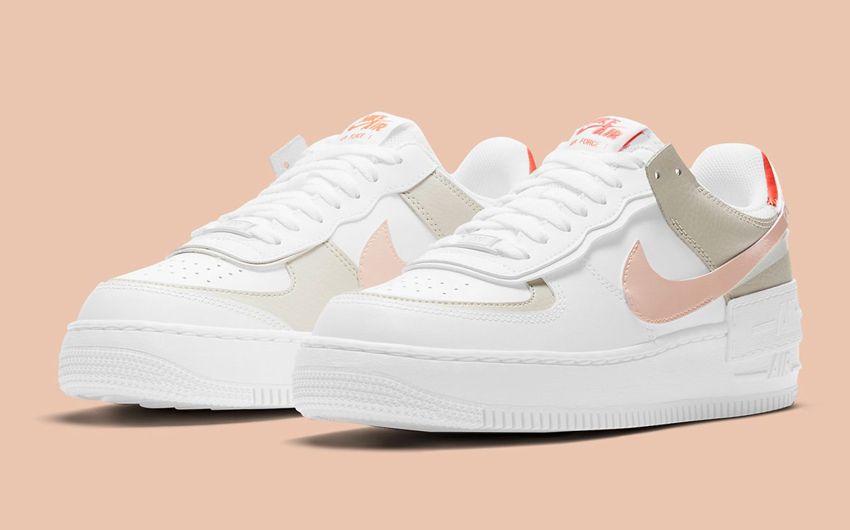 "Available Now // Nike Air Force 1 Low Shadow ""Crimson Tint"""