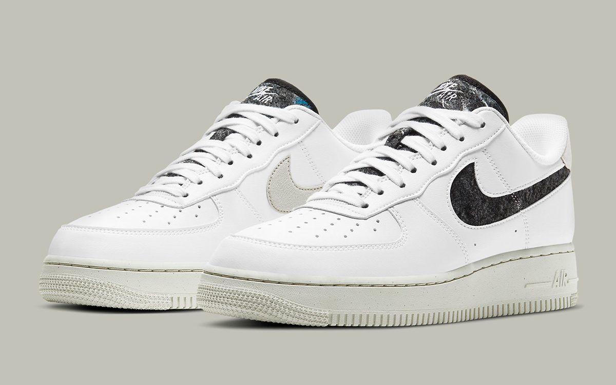 Recycled Wools Appear on this New Nike Air Force 1 | HOUSE OF HEAT