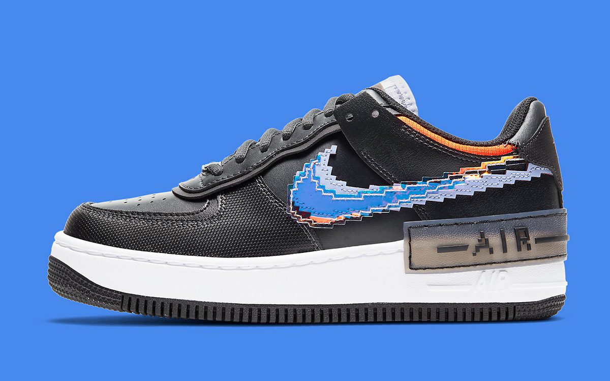 Nike Air Force 1 Shadow Pixel Presents With Iridescent Swooshes House Of Heat Sneaker News Release Dates And Features Кроссовки grateful dead bears x nike sb dunk low green. nike air force 1 shadow pixel