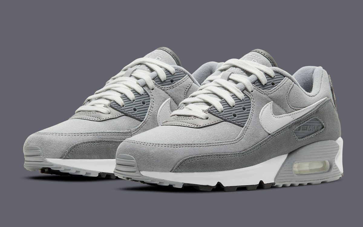 Premium Air Max 90 Comes Constructed in Canvas and Suede
