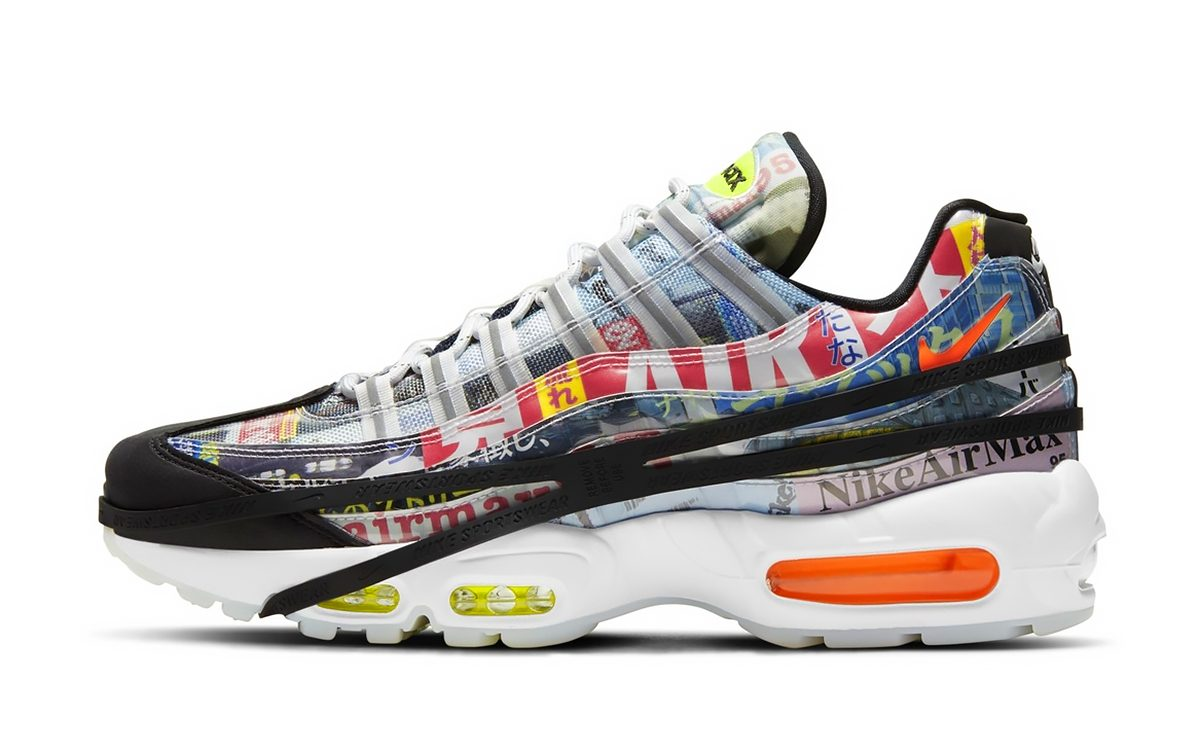 """Official Images // Nike Air Max 95 """"Japan"""""""