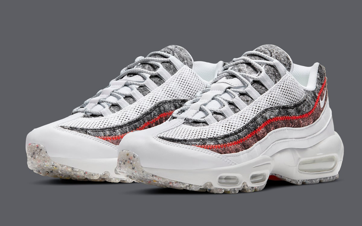 Recycled Wool Fibers Reappear on Two Air Max 95 Options   HOUSE OF ...