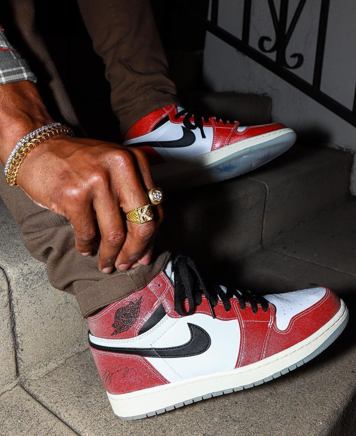On-Foot Looks // Trophy Room x Air Jordan 1 High OG