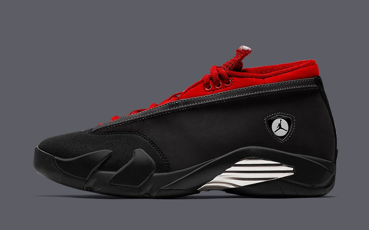 "Air Jordan 14 Low ""Black/Gym Red"" Arrives September 16"