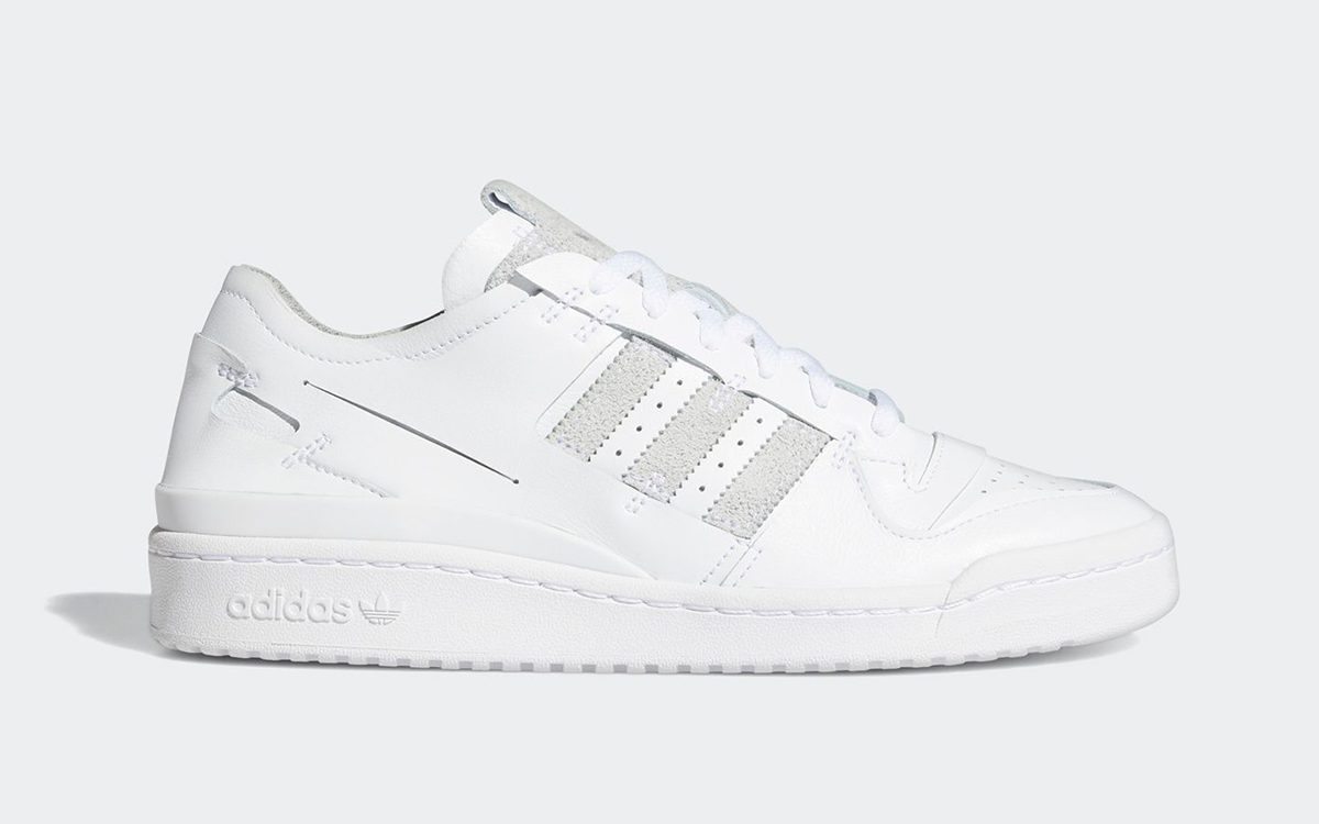 adidas Forum Low Minimalist Emerges in White and Grey