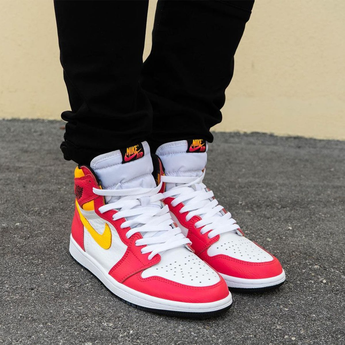 """Where to Buy the Air Jordan 1 High """"Light Fusion Red"""