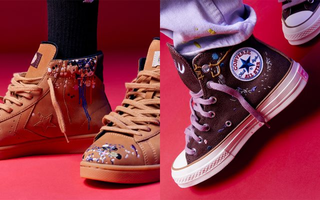 Bandulu Reunites with Converse for Thread-Heavy Pro Leathers and Chuck 70s