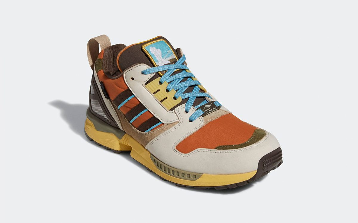 """Official Images // adidas ZX 8000 """"Yellowstone"""""""