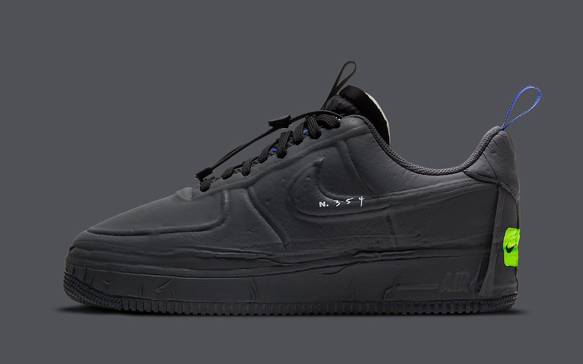 "Nike Air Force 1 Low Experimental ""Anthracite"" Arrives Feb. 25th"