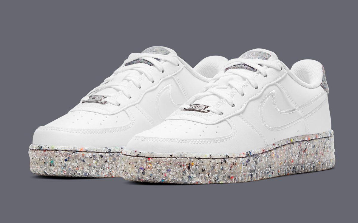 The Air Force 1 Gets Geared with Grind Rubber Soles
