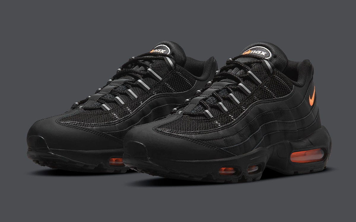 Available Now // Air Max 95 in Black and Orange | HOUSE OF HEAT