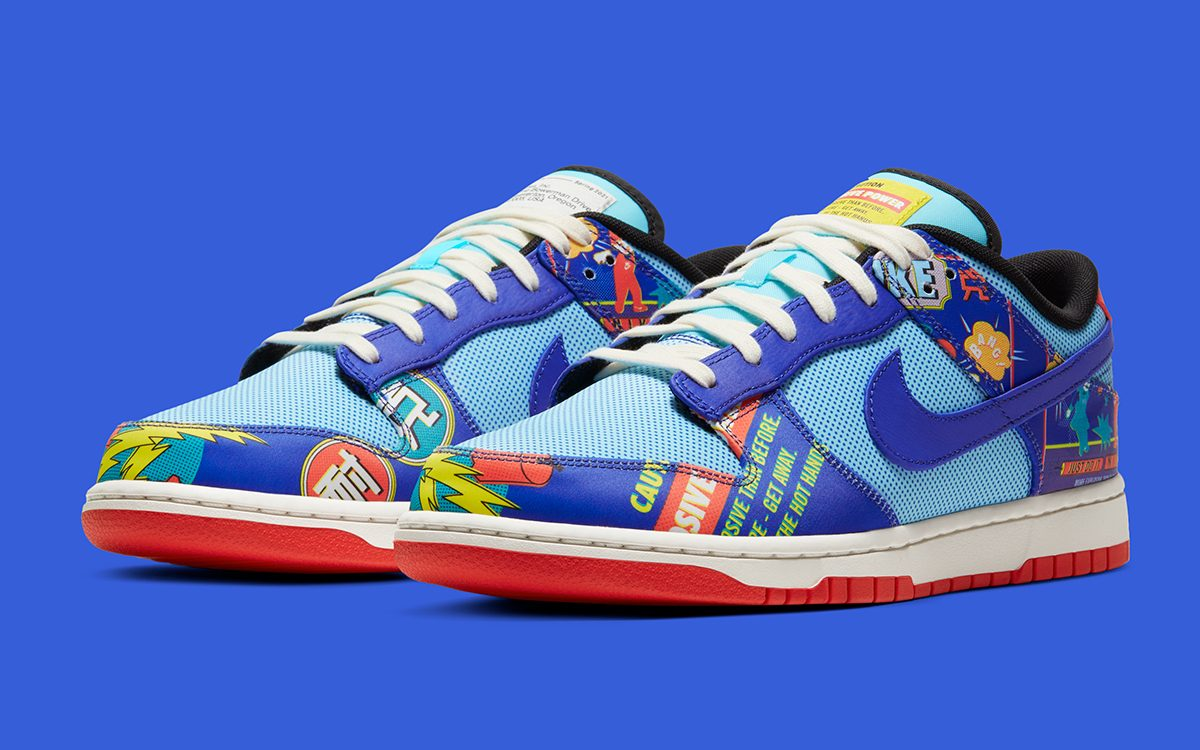 """Official Images // Nike Dunk Low CNY """"Firecracker"""""""