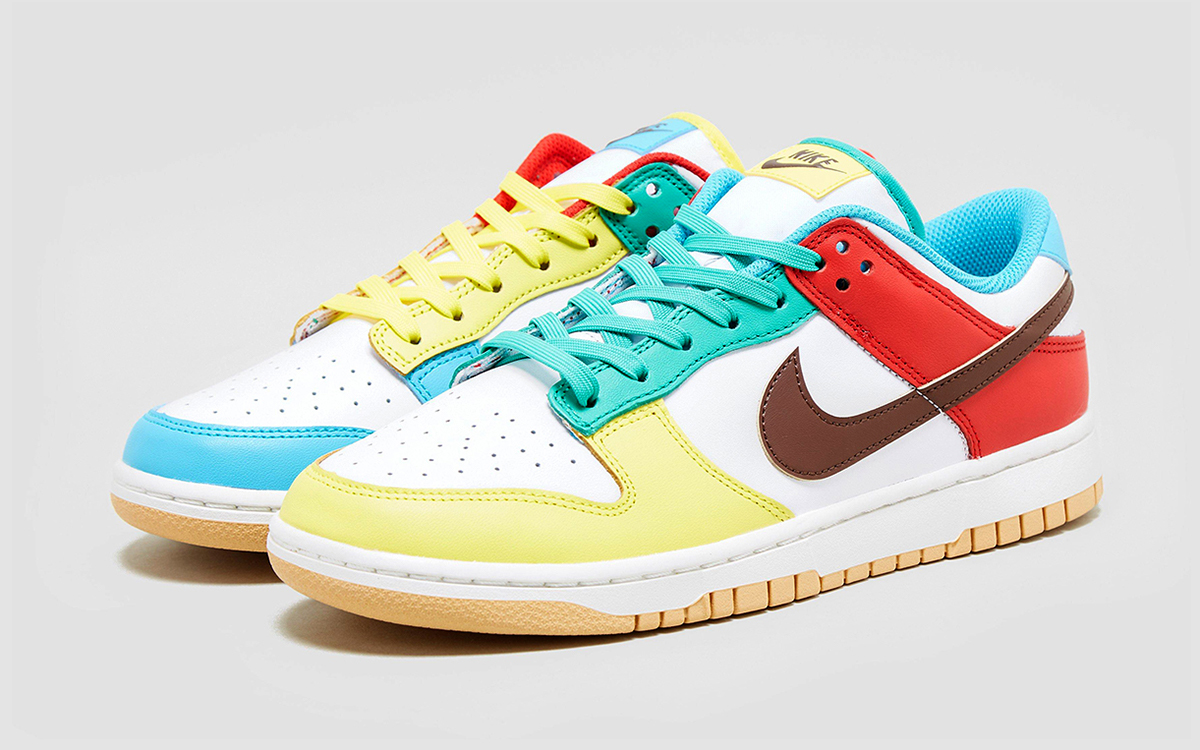 """Detailed Looks at the Nike Dunk Low """"Free 99"""" Pack"""