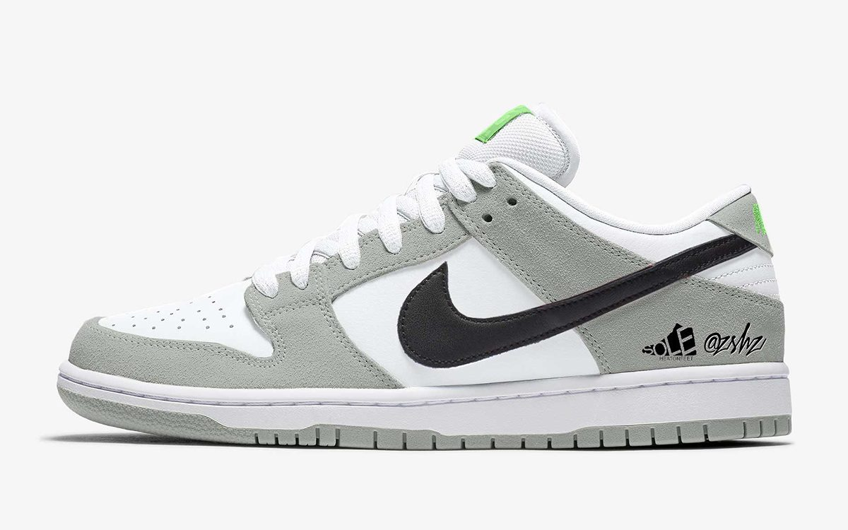 """Nike SB Dunk Low Pro """"Chlorophyll"""" Coming Holiday 2021"""