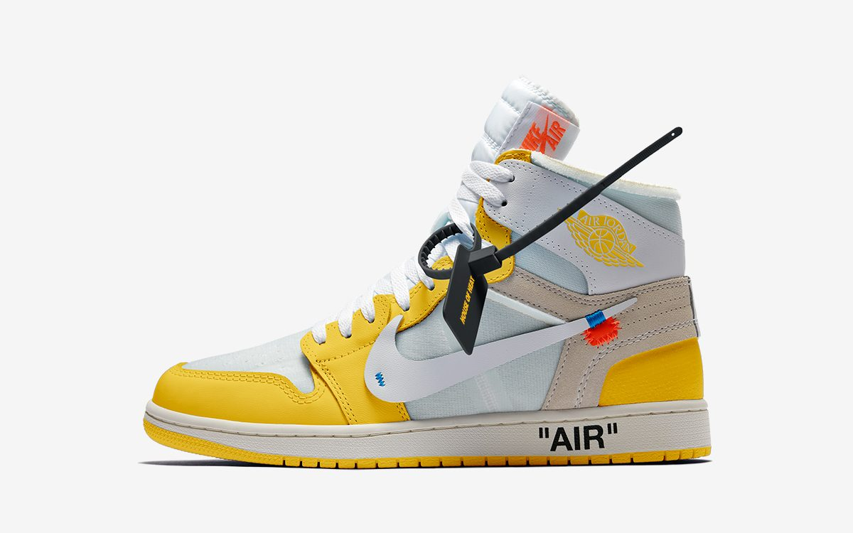 "OFF-WHITE x Air Jordan 1 ""Canary Yellow"" Confirmed for 2021"