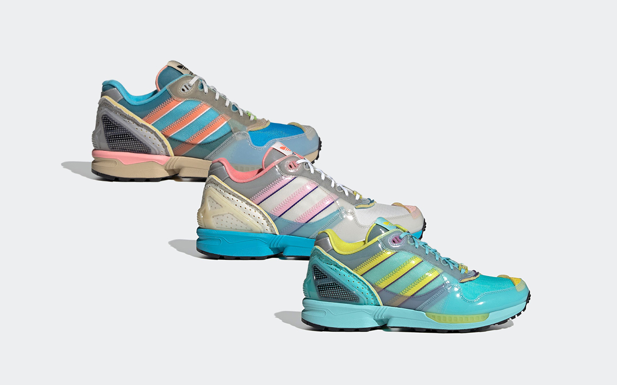 """The adidas ZX 6000 Delivers Three More """"Inside Out"""" Iterations"""